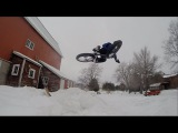 Fatbike Snow Trials  XC  DH  Street  Jumping on the Fatback Corvus