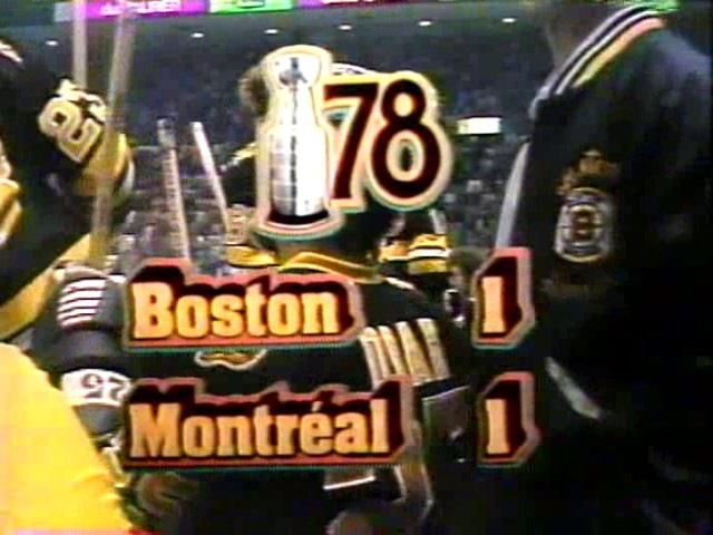 1978 Game 2 CANADIENS 3 BRUINS 2 OT PART 2