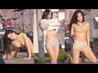 160519 - GirlGroup LAYSHA (Go Eun) - Emergency, Sexy Kpop Fancam