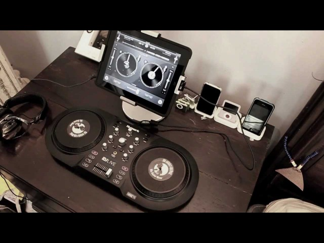 Effects in djay for iPad IDJ Live by NUMARK