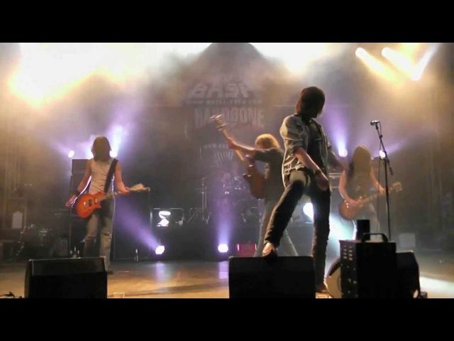 HARDBONE Live at Metal Bash 2013 - FAT CAT