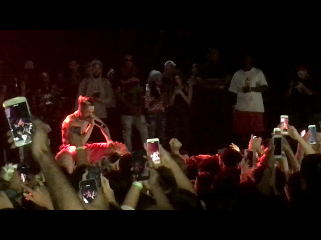 XXXTentacion - I Spoke to the Devil in Miami, He Said Everything would be Fine (Live in LA, 6617)