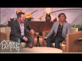 Joey Fatone Chows Down  The Queen Latifah Show