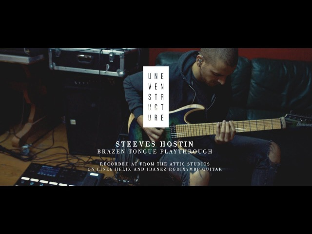 Uneven Structure Brazen Tongue Guitar Playthrough on Line6 Helix and Ibanez RGDIX7MBP