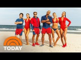 'Baywatch' Exclusive Official Trailer (2016) - Dwayne Johnson, Zac Efron  TODAY