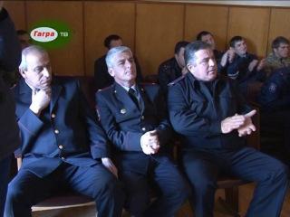 В предверии Дня милиции Заместитель Министра внутренних дел Республики Абхазия поздравил личный сост