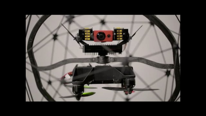 Flyability introduces Elios, the collision-tolerant drone for industrial inspection