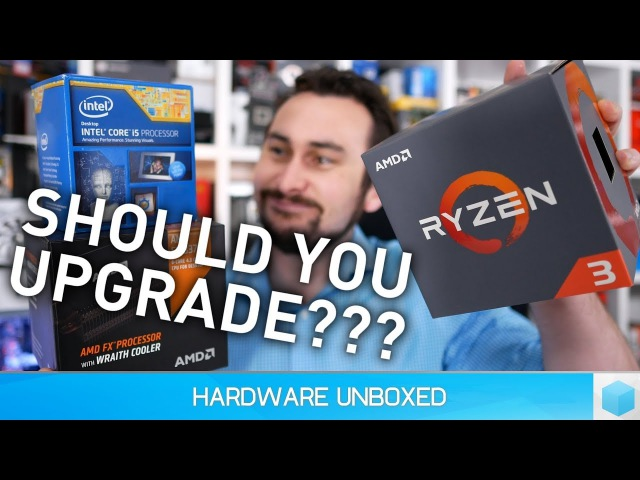 Is It Worth the Upgrade? Ryzen 3 vs. Core i5-2500K vs. FX-8370