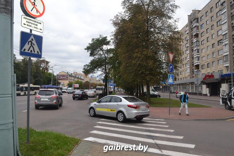 В Бресте на пешеходном переходе пострадала женщина