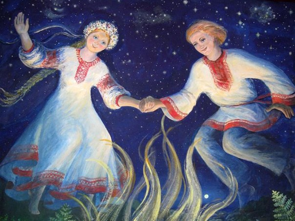 Сказ о Костроме и её брате Купале