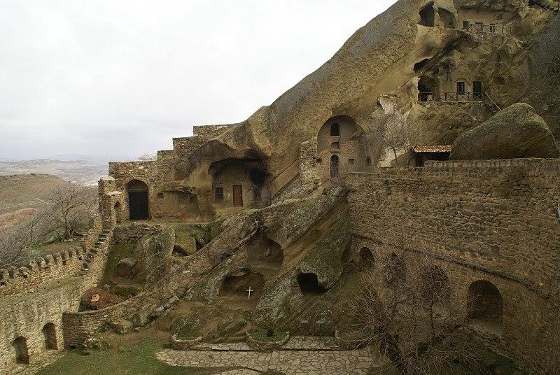 Монастырский комплекс Давид Гареджи в Грузии