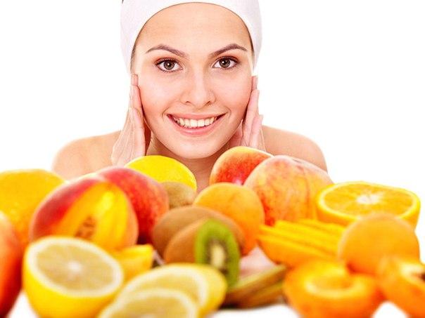 Красивая кожа лица. Какие продукты нужно есть?