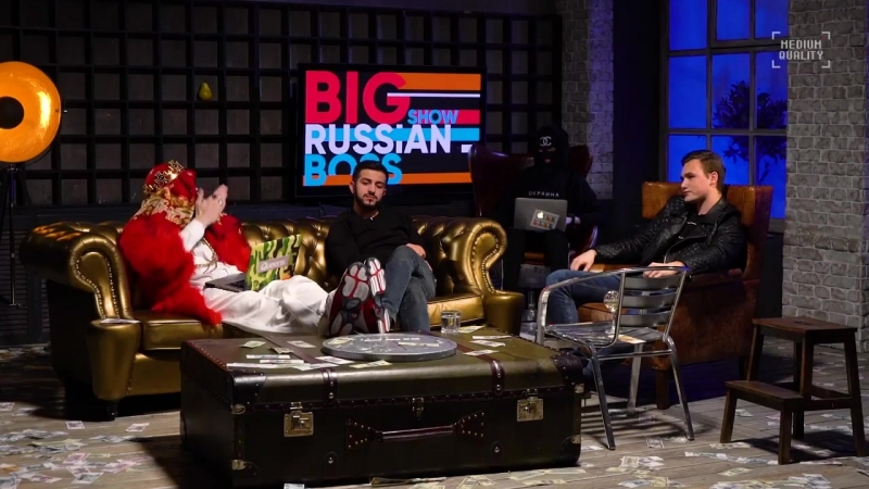 Big Russian Boss Show 21 Николай Соболев и Гурам Нармания. Шоу Большого Русского Босса. Ракамакафо (Rakamakafo) - 720p