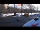Porsche Cayenne попал в аварию на западе Москвы