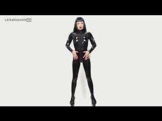 Vivi Sterling in Designer Latex - LatexFashionTV