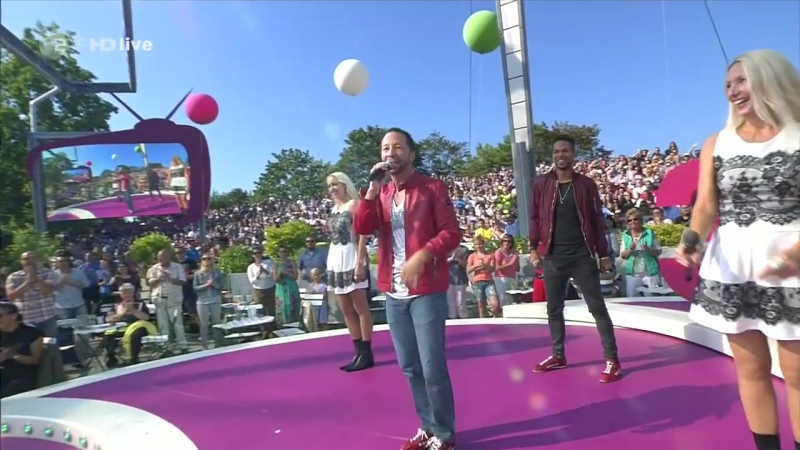 DJ Bobo - There Is a Party (ZDF-Fernsehgarten - sep 25, 2016)