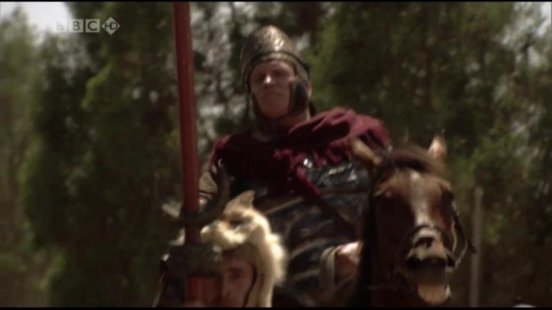 BBC Великие воины Спартак Разгром восставшими гладиаторами римского отряда