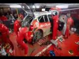 Механики Citroen за три часа приводят в рабочее состояние перевернувшийся гоночный болид (VHS Video)