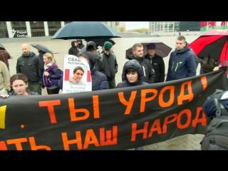«Марш абураных беларусаў» за 100 сэкундаў