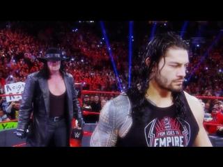 WWE Wrestlemania 33 / Roman Reigns vs Undertaker / Роман Рейнс и Гробовщик / The Phantoms - This Is a War / ALEXVIT