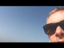 Пляж  Бурдж-Аль-Араб. До буйков :D
