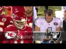 NFL 2017-2018 / Week 07 / Kansas City Chiefs - Oakland Raiders / 2Н / 19.10.2017 / EN