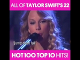 Billboard - All of Taylor Swift's 22 Hot 100 Top 10 Hits