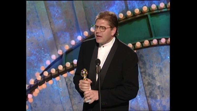 Robert Zemeckis Wins Best Director Motion Picture - Golden Globes (1995)