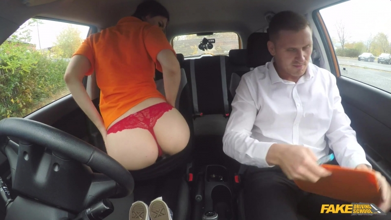 Секс в машине Fake Driving School 170418 Stella