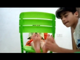 boy feet tickle challenge