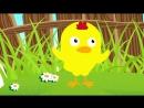 Песенка цыпленка. Цыпа-цыпа пи-пи-пи. Мультик видео для детей. Наше всё