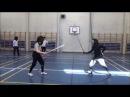 Bolognalaisen miekkailun seminaari Joensuussa