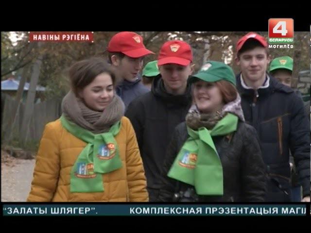 Могилевские активисты БРСМ помогали одинокой пенсионерке