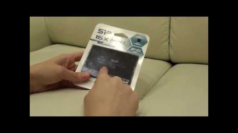 6) Накопитель SSD SILICON POWER Slim S55 240Гб. Собираем игровой комп, недорогой и мощный