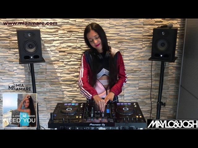 Mia Amare in the Mix Pioneer XDJ RX New Music Deep House Maylo Josh