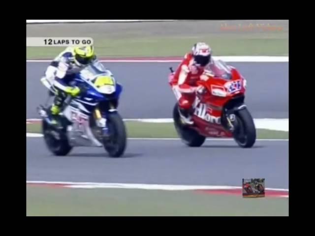 MotoGP China 2007 - Valentino Rossi vs Casey Stoner