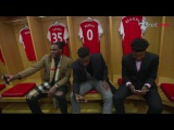 Denver Nuggets take a tour of Emirates Stadium