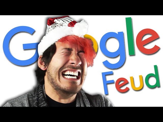 LAUGHING MY JINGLE BELLS OFF   Google Feud 3