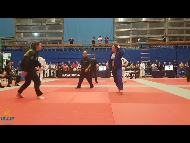 Samantha Cook vs Leoni Munslow / London Fall Open 2017