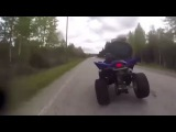 LiveLeak - Quad Bike Rider Charged With Attempted Murder After Ramming Cop During Chase