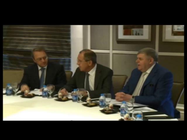 Встреча С.Лаврова с выпускниками