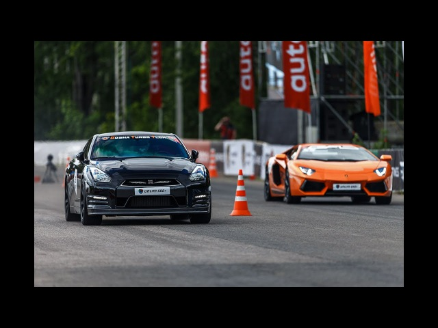 1200 HP Twin Turbo Aventador vs Nissan GT-R vs BMW M6