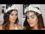 DIY Mermaid Crown + Mermaid Makeup Tutorial! | Katerina Williams
