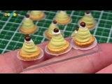 DIY Miniature Mont Blanc Cake (Fake food)