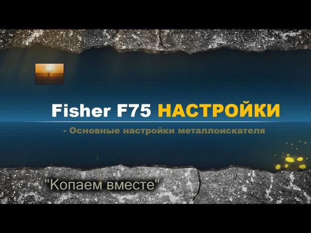 Fisher f75 металлоискатель. Видео о настройках Фишер Ф75. Копаем вместе!