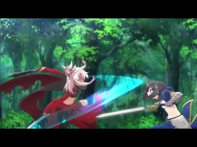 Epic battle between two loli