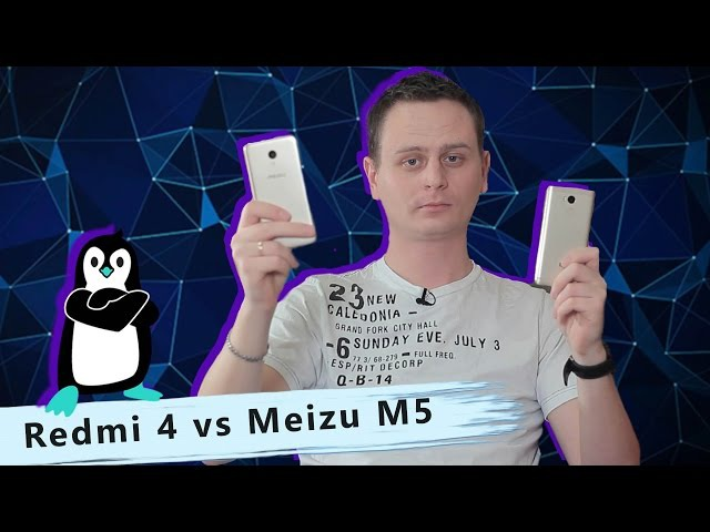 Порівняння Meizu M5 3 32 Гб та Xiaomi Redmi 4 Prime