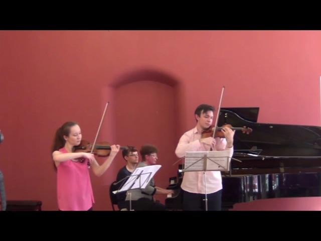 Ysaÿe - Amitié - Roman Filipov, Anna Gridneva/Роман Филипов, Анна Гриднева