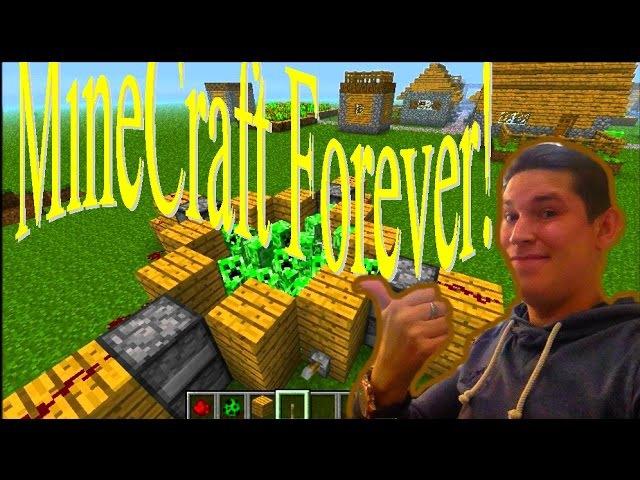 Minecraft С киркой пожизни Minecraft Kirk life