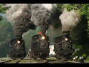 Top-10 Retro Locomotives and Trains in the World. Mega Machines and Technology of the Past